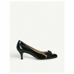 Carla 55 patent-leather courts