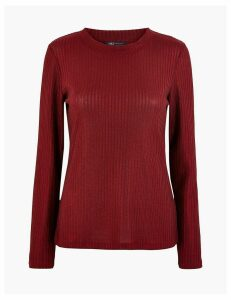 M&S Collection Fitted Long Sleeve Top