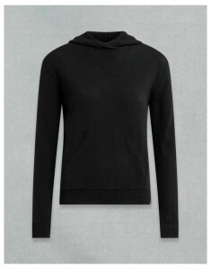 Belstaff ENGINEERED HOODIE Black