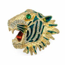 Rajah brooch in metal