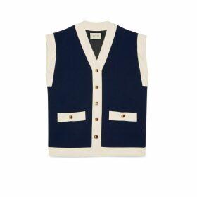 Cady viscose vest