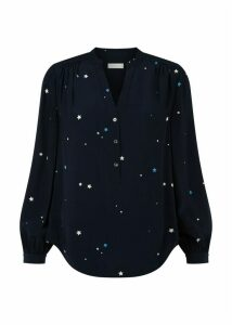 Hester Shirt Navy Multi