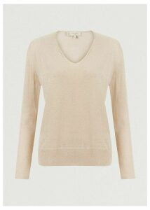 Mae Sparkle Sweater Oyster