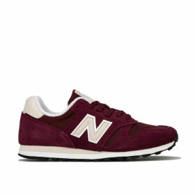 New Balance Womens 373 Suede Trainers Size 3 in Red