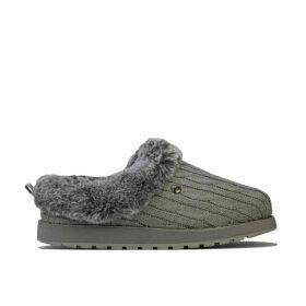 Skechers Womens Keepsakes Ice Angel Slippers Size 6 in Grey
