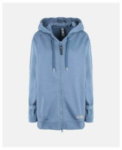 Stella McCartney Blue Blue Essentials Hoodie, Women's, Size S