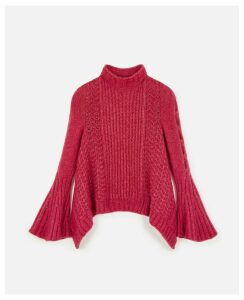 Stella McCartney Pink Pink Cable Knit, Women's, Size 4