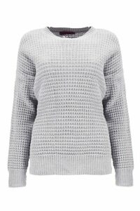 Womens Oversized Vintage Jumper - grey - S, Grey