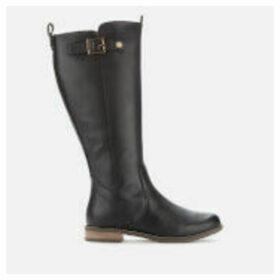 Barbour Women's Rebecca Leather Calf Length Boots - Black - UK 4 - Black