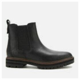 Timberland Women's London Square Chelsea Boots - Black Full Grain - UK 4