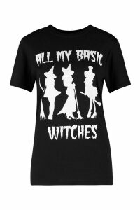 Womens Hallloween T-Shirt - black - M, Black