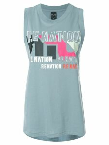 P.E Nation Co-Driver tank top - Blue