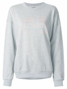 P.E Nation Heads Up sweatshirt - Grey