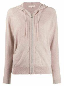 Filippa-K zipped active hoodie - PINK
