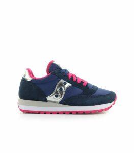 Saucony Jazz Blue Pink Silver Sneaker