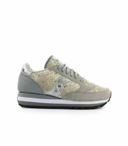 Saucony Jazz Triple Snake Grey Gold Sneaker
