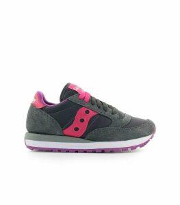 Saucony Jazz Dark Grey Pink Sneaker
