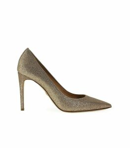 Dsquared2 Gold Glitter Pump