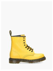 Dr. Martens Combat Boots 1460 Smooth Yellow 8 Eye Z Welt