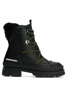 Dsquared2 chunky hiking style boots - Black
