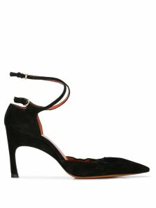 Santoni décolleté pointed pumps - Black