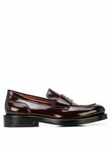 Santoni slip-on loafers - Brown