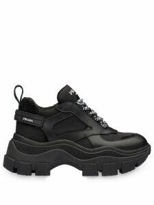 Prada Block chunky sole sneakers - Black