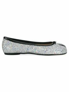 Maison Margiela Tabi glitter ballerinas - Grey