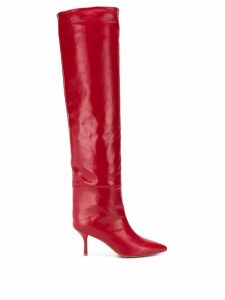 Stuart Weitzman Millie over-the-knee boots - Red