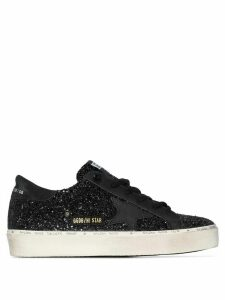 Golden Goose Hi Star glitter low-top sneakers - Black