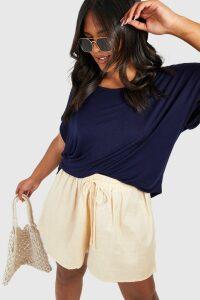 Womens Plus Oversized T-Shirt - Navy - 20, Navy