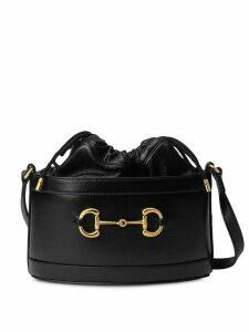 Gucci Gucci 1955 Horsebit bucket bag - Black
