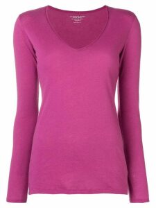 Majestic Filatures v-neck jumper - PINK