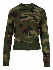 Miu Miu Camouflage Sweater