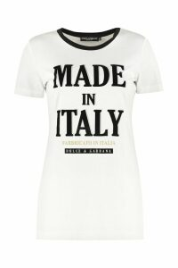 Dolce & Gabbana Crew-neck Cotton T-shirt