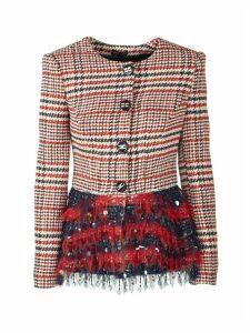 Elisabetta Franchi Celyn B. Jacket With Sequins Blazer