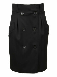 Bblack Wool Skirt