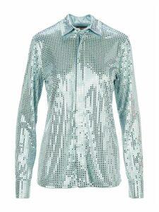 Bottega Veneta Mirror-embellished Shirt