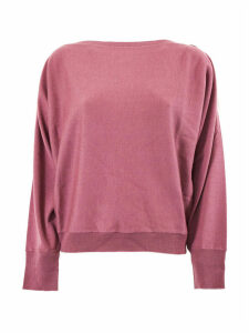 SEMICOUTURE Pink Virgin Wool Nicky Jumper