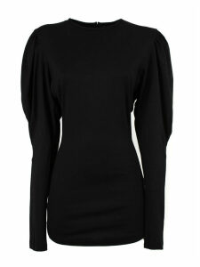 Isabel Marant Black Virgin Wool Davallia Top