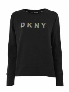 DKNY Sweatshirt In Black Cotton