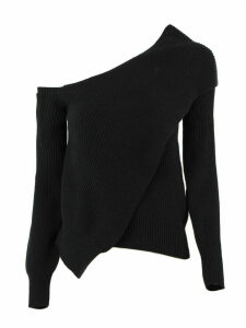 RTA Juliet Sweater In Black Cotton