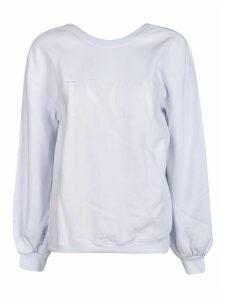 MSGM Logo V-back Sweatshirt