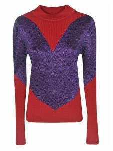GCDS Glitter Heart Sweater