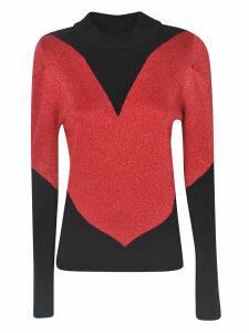 GCDS Glitter Heart Sweater