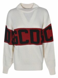 GCDS Logo Striped Sweater