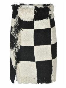 MSGM Checked Skirt