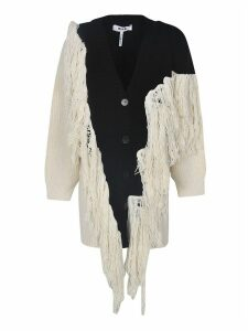 MSGM Frayed Cardigan
