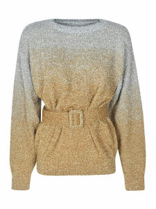 Dries Van Noten Belted Waist Sweater