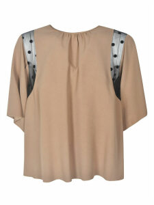 N.21 Sheer Detail Blouse